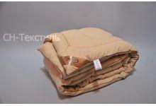 Одеяло SN-Textile 200х220 облегченное овечья шерсть микрофибра
