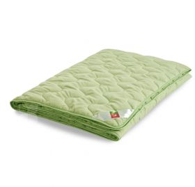 Одеяло бамбуковое 140х205 легкое Легкие Сны Леди Тропикана микрофибра