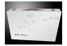 упаковка постельного белья silk-place сатин