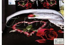 Постельное белье 3D Tango TS05-923 семейное из сатина
