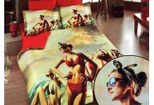 Постельное белье из бамбука VS069-34 евро 3d