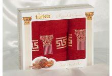 Набор полотенец Turkiz plt094-3 из махры