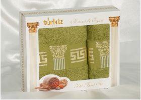 Набор полотенец Turkiz plt094-2 из махры
