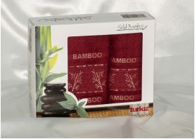 Набор полотенец Turkiz plt095-7 бамбук