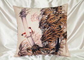 Декоративная подушка Tango pd221-9 из бархата 45х45