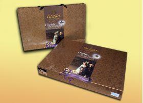 Упаковка постельного белья tango евро фланель