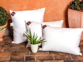Подушка пух-перо German Grass 3D Aloe Vera Grass 68х68 упругая