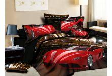 Постельное белье 3D Cleo 31/561-3D евро из сатина 3D