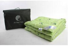 Набор бамбук одеяло 140х205 теплое + подушки 50х68 2шт. Легкие Сны Леди Бамбоо хлопок