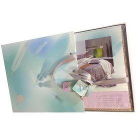 упаковка постельного белья сатин элит kingsilk