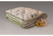 Одеяло NATURES Бамбуковый Медвежонок 100х150 легкое бамбук