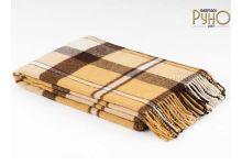 Плед шерстяной РУНО Перу-Альпака-03 размер 100х140