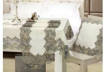 Скатерть РЕШЕЛЬЕ сатин с пропиткой TANGO SKT136-2 размер 150х220
