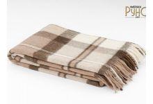 Плед шерстяной РУНО Перу-Альпака-01 размер 100х140