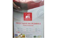 упаковка простыня на резинке трикотажная легкие сны