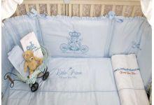 Постельное белье в кроватку MAGRAMI LITTLE PRINCE