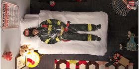 Прикольное постельное белье SNURK FIREFIGHTER
