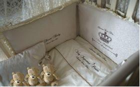 Постельное белье в кроватку MAGRAMI