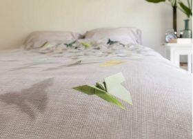 Прикольное постельное белье SNURK БАБОЧКИ