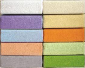 Простыня на резинке трикотажная белая 120х200 Легкие Сны