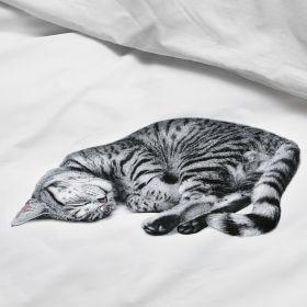 Прикольное постельное белье SNURK КОШКА OLLIE