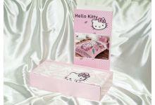 упаковка детского постельного белья hello kitty