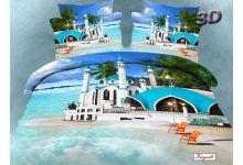 Постельное белье Kingsilk-Seda 3D-Exclusive PX-91-3 евро из сатина