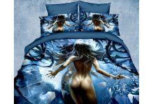 Постельное белье Kingsilk-Seda 3D-Exclusive PX-4-3 евро из сатина