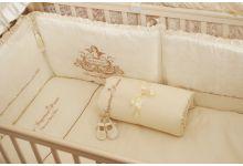 Постельное белье в кроватку MAGRAMI с АНГЕЛОМ