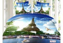 Постельное белье Kingsilk-Seda 3D-Exclusive PX-93-3 евро из сатина