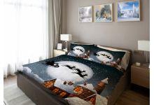 Прикольное постельное белье Newtone НОВЫЙ ГОД 1.5-спальное