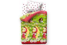 Постельное белье для детей Маша и Медведь - Большая Стирка (50х70)