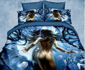 Постельное белье Kingsilk Seda 3D-Exclusive PX-4-5 евро макси